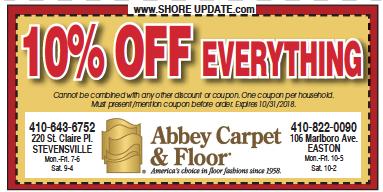 Kent Island Abbey Floors