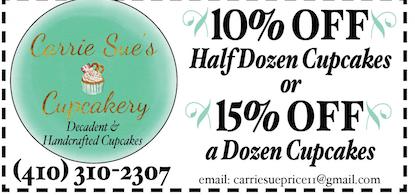 Carriesuescupcakery