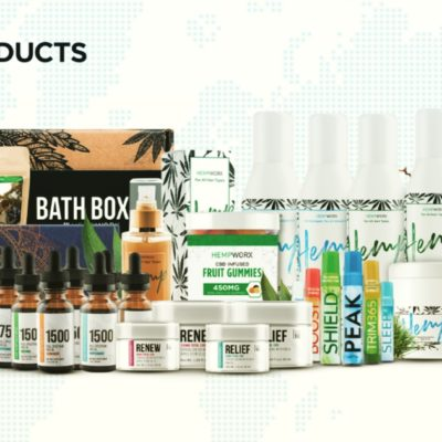 100% Pure CBD Products