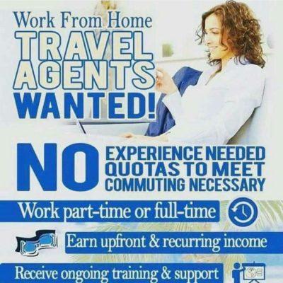 Independent Travel Business Owner, Home Based!