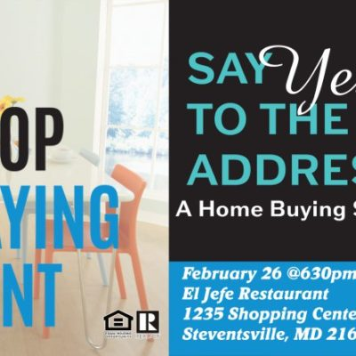 Say YES to the Address - Home Buying Social